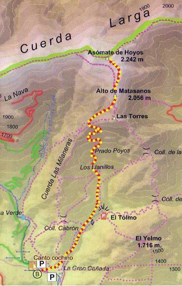 Montañismo: jueves 1 de mayo 2014 - Ascensión al pico Asómate de Hoyos Aaaa10