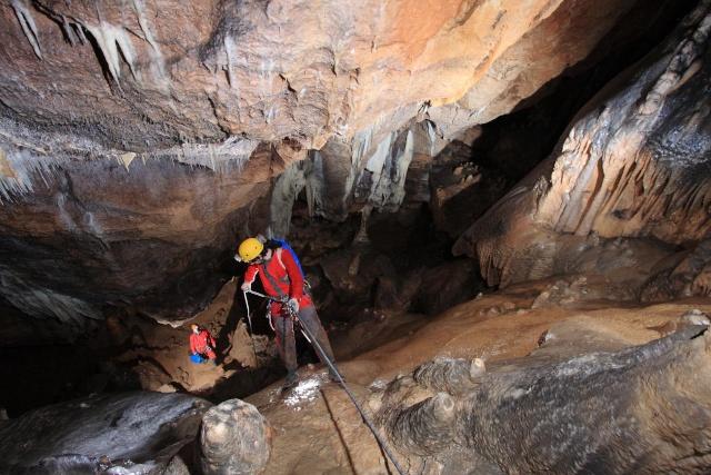 Senderismo y espeleología: 8 y 9 de febrero 2014 - Cañón del Río Lobos y Cueva de la Galiana - Página 3 Cc10