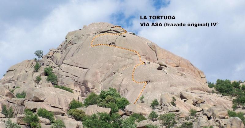 Escalada: domingo 18 de mayo 2014 - La Tortuga de la Pedriza (Vía ASA) La_tor15