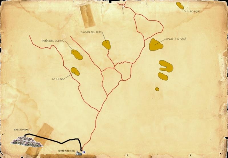 Valdemanco: Sectores Cancho Albalá, Placa de los Cursillos y Placa PR Mapa_v11