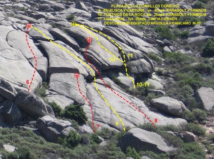 Valdemanco: Sectores Cancho Albalá, Placa de los Cursillos y Placa PR Placa_12