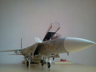 F 15C EAGLE.kit revell au 1/32 plus kit d'amelioration AIRES resine F14a_115
