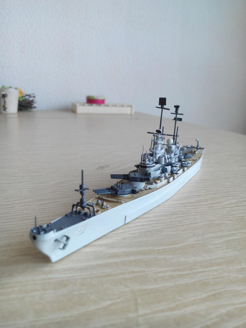 battleship.USS IOWA.kit revell 1/1200 Img_2018