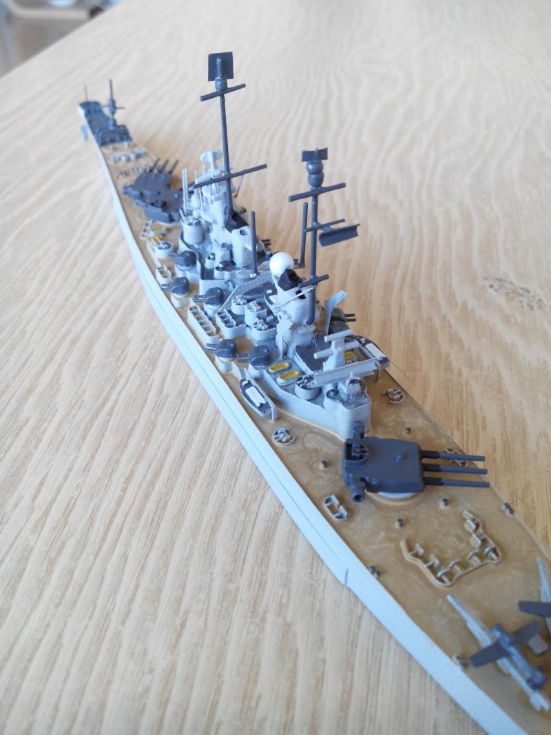 battleship.USS IOWA.kit revell 1/1200 Img_2019