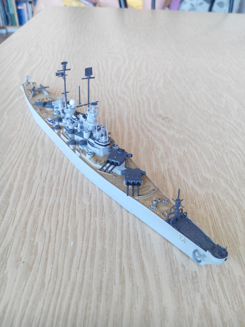 battleship.USS IOWA.kit revell 1/1200 Img_2024