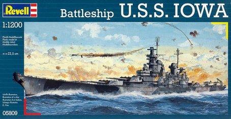battleship.USS IOWA.kit revell 1/1200 - Page 2 Revell10