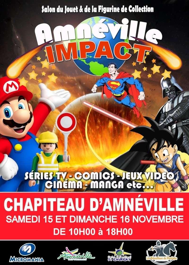 SALON SUR LE JOUET AMNEVILLE IMPACT 15 ET 16 NOVEMBRE 2014 Affich10