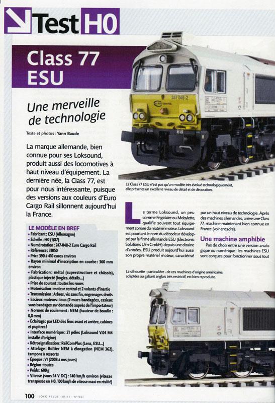 ESU Class77 LR786 Esu77010
