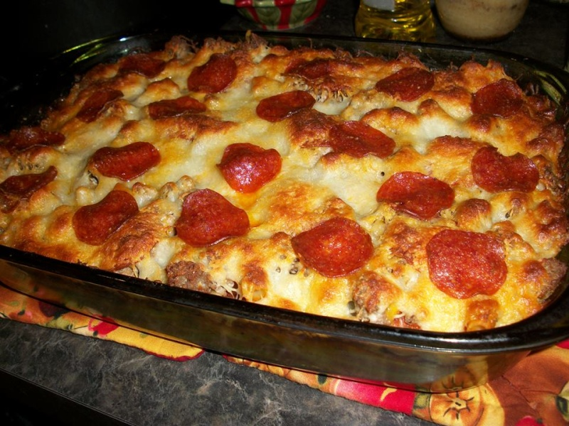 Pizza Spaghetti Casserole ! 12360010