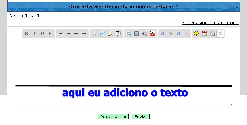é possivel adicionar um texto fixo abaixo de cada mensagem postada? 0001_b10