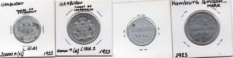 La moneda de emergencia en Alemania Moneda16