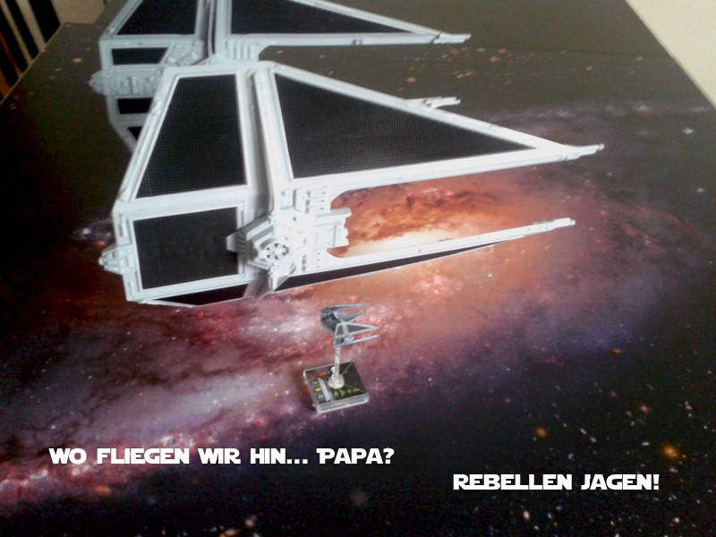 Bei einem X-Wing Spieler Zuhause 111