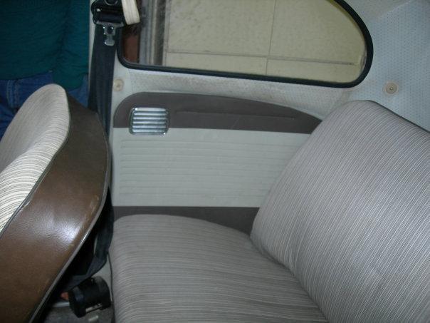 Set de panneaux de porte marron/beige pour cox modèle 64 19474210