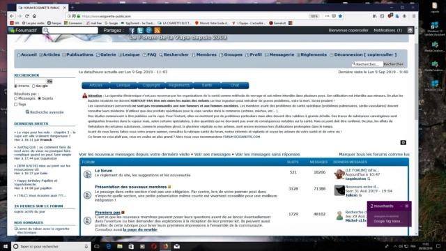 [LE FORUM] rafraîchissement du menu latéral - Page 2 Forum11