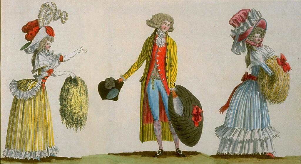 Galerie de portraits : Le manchon au XVIIIe siècle  - Page 3 1787_f10