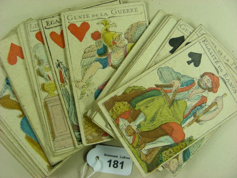 Les jeux de cartes au XVIIIe siècle - Page 2 18110