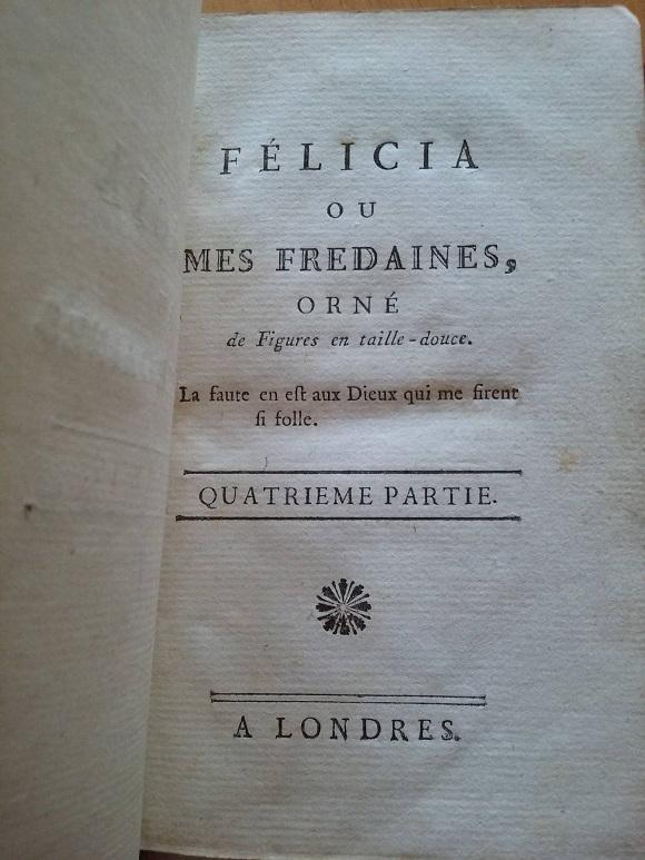 La littérature libertine au XVIIIe siècle 54398910