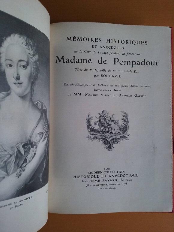 Bibliographie sur Madame de Pompadour 54436010