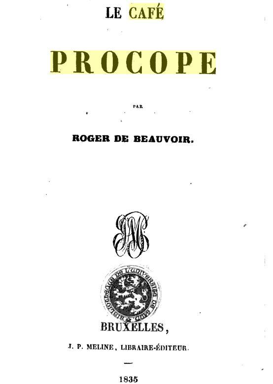 Le Café Procope  - Page 2 Cafzop10