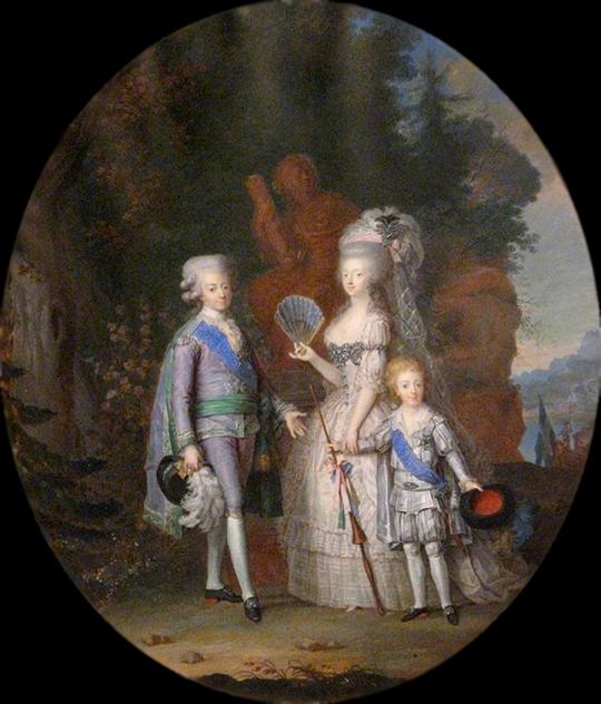 Le film,  « Gustav III :s äktenskap » Gustav10