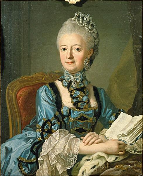 Le film,  « Gustav III :s äktenskap » Luise_10