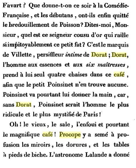 Le Café Procope  - Page 2 Procop10