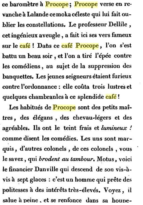 Le Café Procope  - Page 2 Procop11