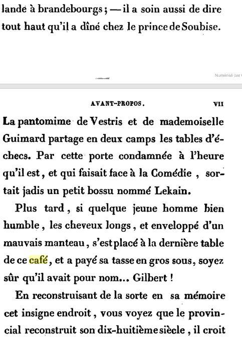 Le Café Procope  - Page 2 Procop12
