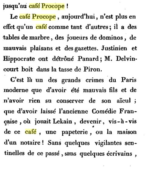 Le Café Procope  - Page 2 Procop15