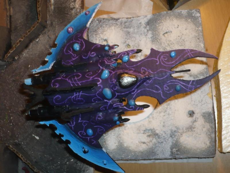 Medusae et Chasseur Razorwing scratch build P1050611