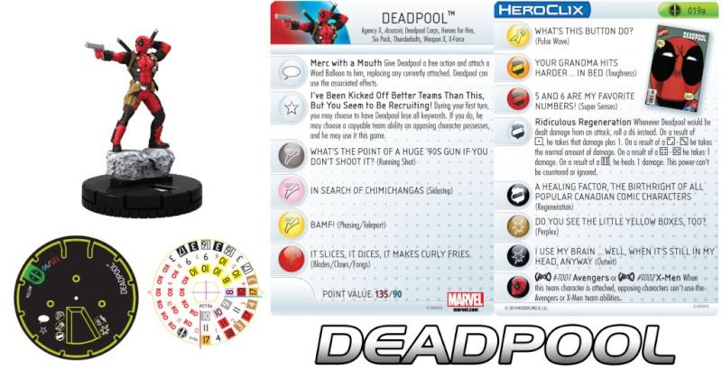 News Marvel Heroclix Deadpool