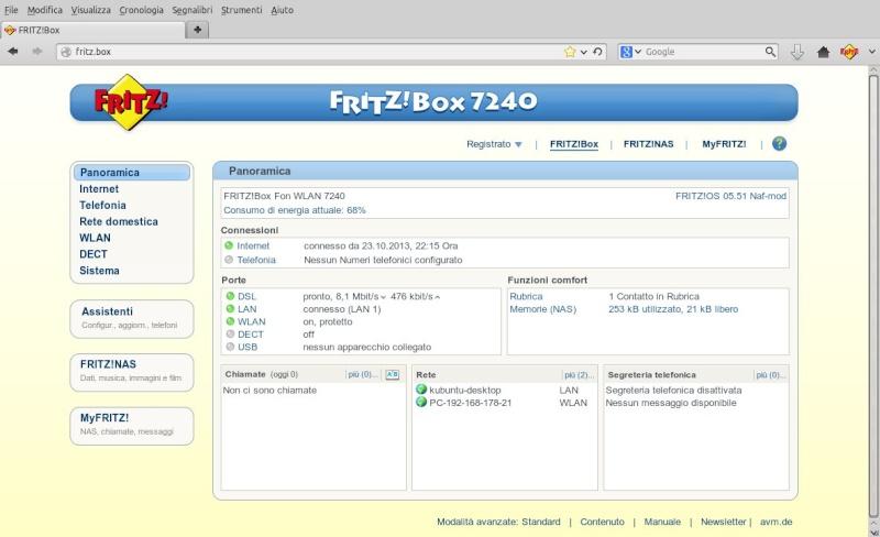 Firmware per 7240 73.05.51 multilingua e multiannex Naf-mod Scherm13