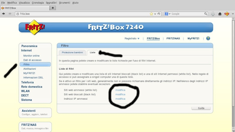 Fritz 7330 Problem di collegamento smartphone e tablet Android  Scherm16