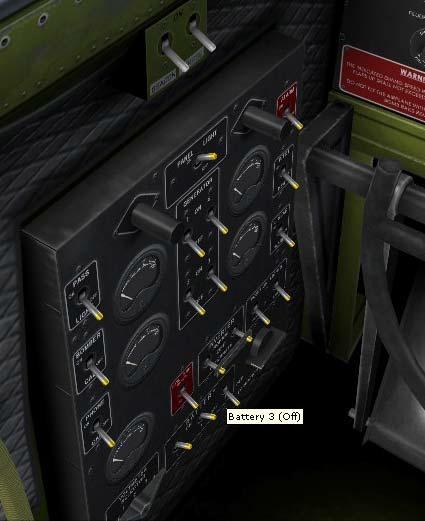 Tableau de commandes B-17 Image214