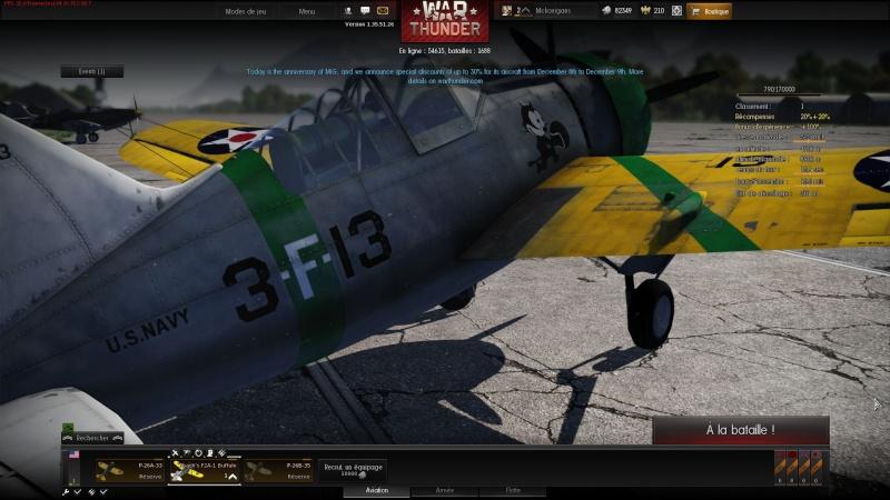 WarThunder ( Simulateur de combat) aerien Image311