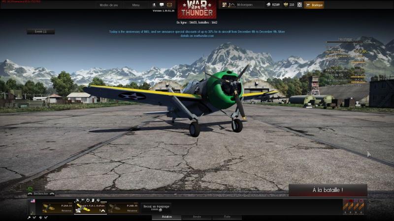 WarThunder ( Simulateur de combat) aerien Image410
