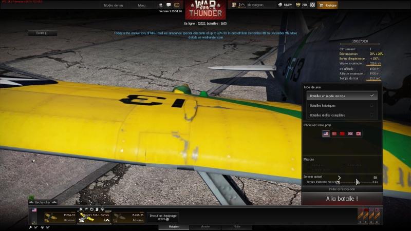 WarThunder ( Simulateur de combat) aerien Image910