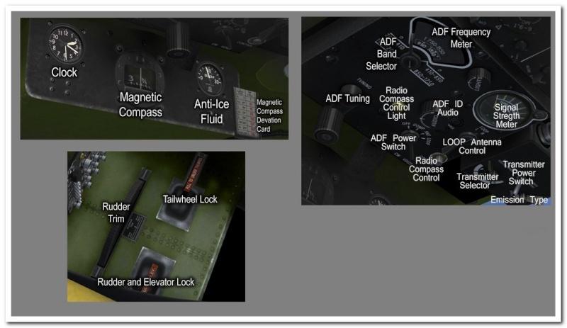 Tableau de commandes B-17 Pilota10