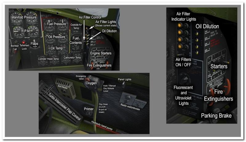 Tableau de commandes B-17 Pilota11