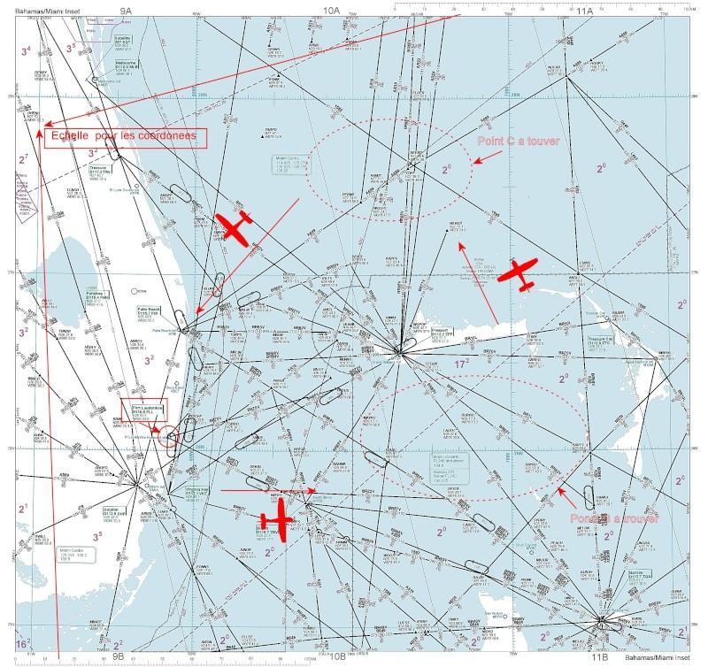 Plan de vol       - le Mystere du Vol 19 ( 12/5/1945 ) -  Plan_d10