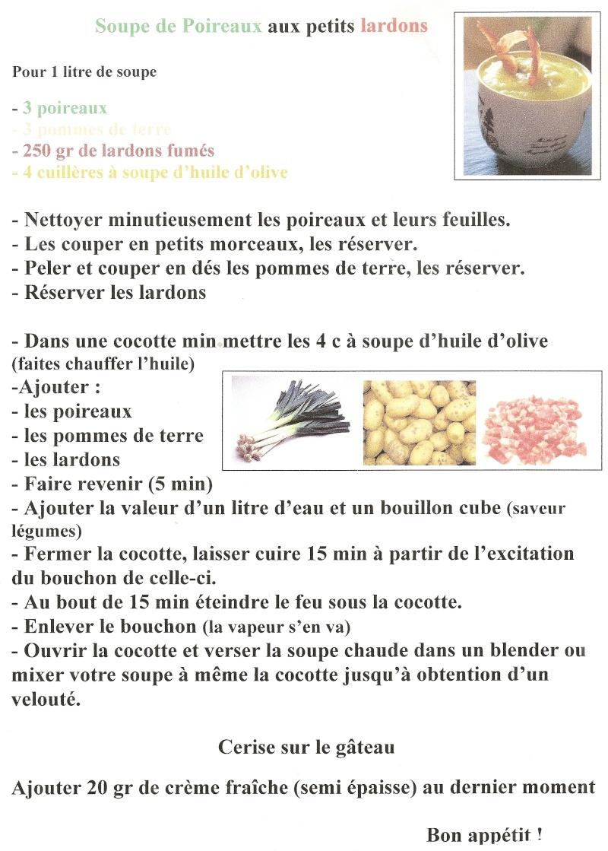 Concours de soupe : le partage des recettes Talath10