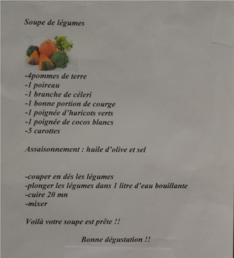 Concours de soupe : le partage des recettes Talath17