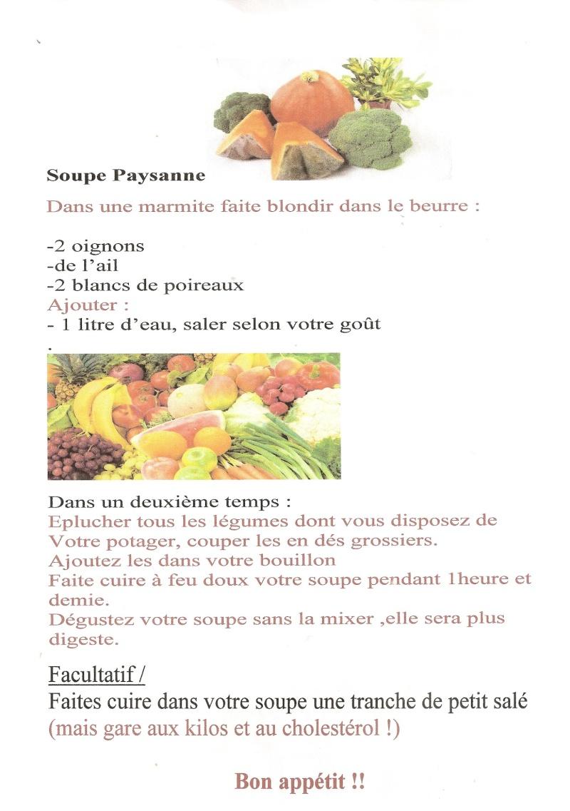 Concours de soupe : le partage des recettes Talath18