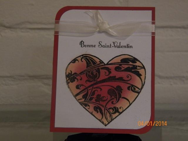 Voici le début de mes cartes pour la Saint-Valentin ... Faut suivre le courant :0) 6210