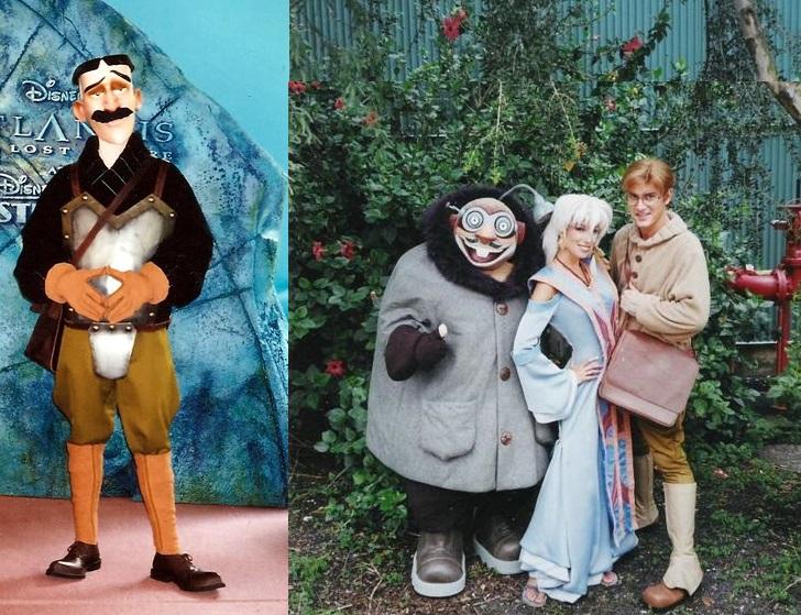 Les personnages de l'Atlantide à Disneyland Paris Kida-v10