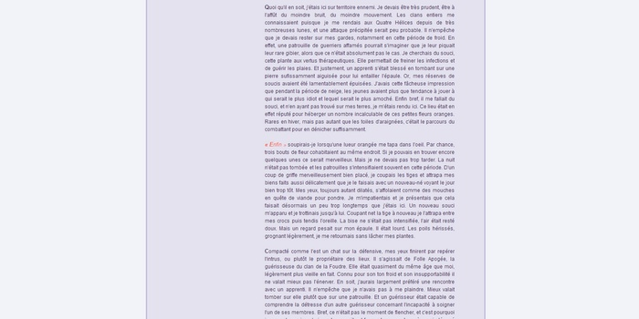 Texte aligné & centré Texte_10