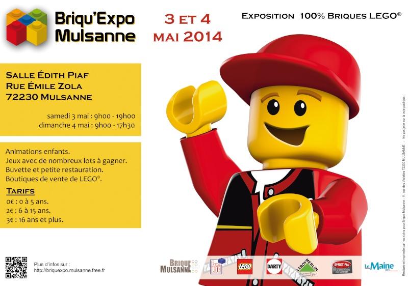 [Expo] BIONIFIGS à la Briqu'expo de Mulsanne ces 3 & 4 mai 2014 Affich10
