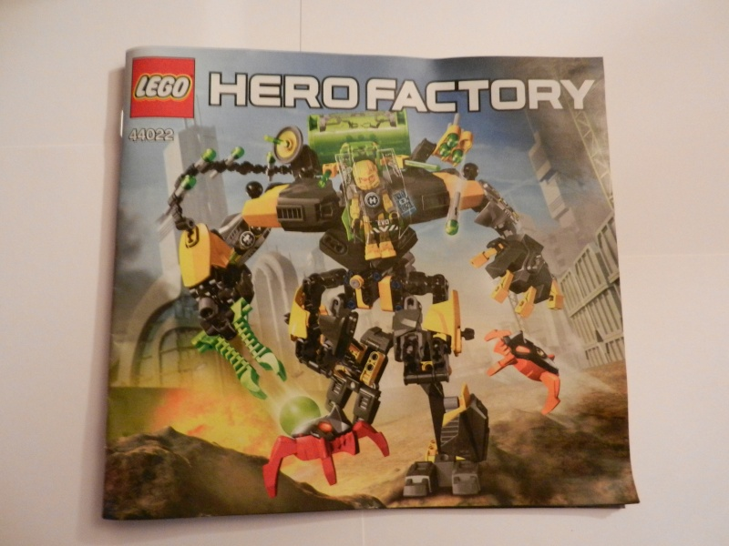[Revue] Hero Factory 44022 : Evo XL Machine Dscn5053
