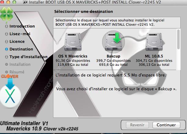 Mavericks Gratuit (modifier Installer) 119