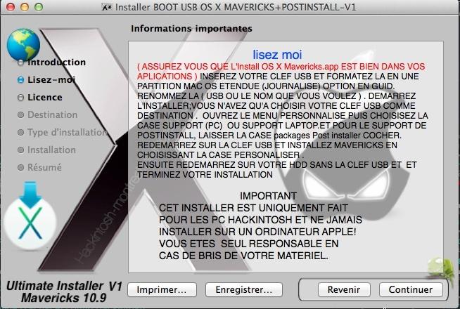 Mavericks Gratuit (modifier Installer) 122
